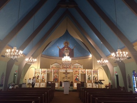 Sts Cyril & Methodius newly painted Nave